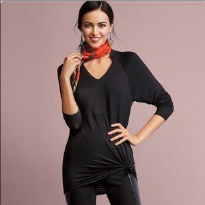 cAbi Black Gala Sweatshirt Tunic